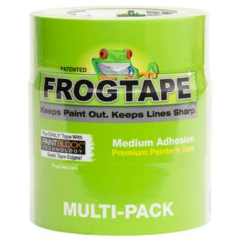 FrogTape Multi-Surface Painter's Tape 48mm x 55m - 3 Pack