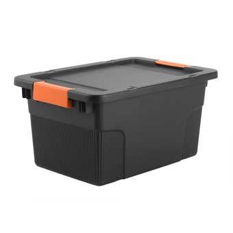 Buy Right Heavy Duty Storage Box Lockable 30L