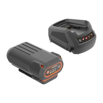Yard Force 40V 4.0Ah Battery & Charger Kit AL G40S