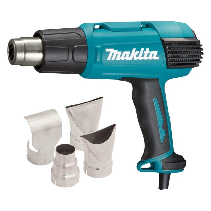 Makita 2000W 50 to 650-Deg C Variable Heat Gun Kit HG6530VKIT
