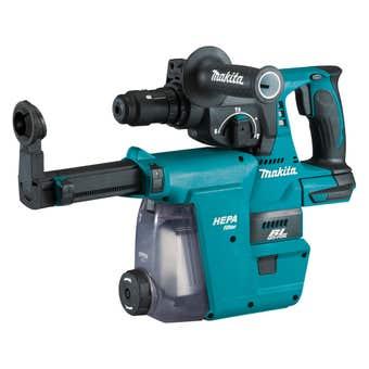 Makita 18V Brushless 24mm SDS Plus Rotary Hammer Skin DHR243ZJW