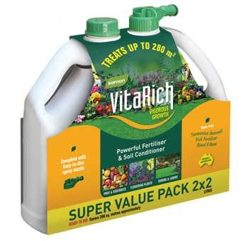 Samon VitaRich Powerful Fertiliser 2 Litre - 2 Pack