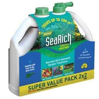 Samon SeaRich Plant Food Range 2 Litre - 2 Pack