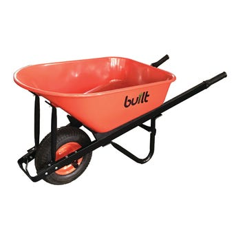 Built Wheelbarrow Heavy Duty Metal Tray 100L