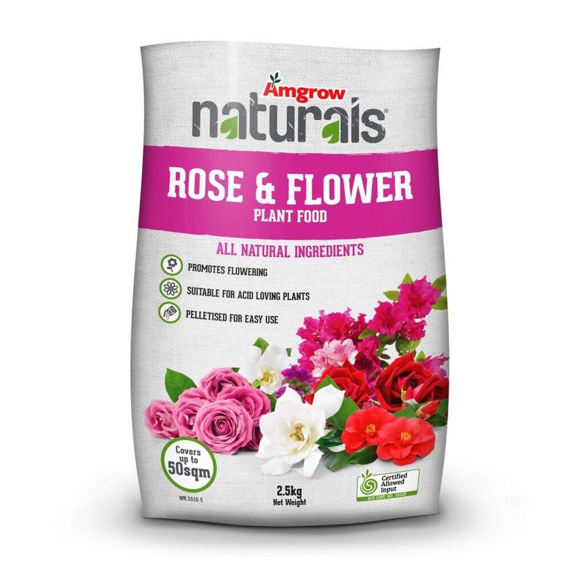 Amgrow Naturals Fertiliser Rose & Flower 2.5kg