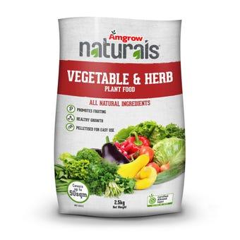 Amgrow Naturals Fertiliser Vegetable & Herb 2.5kg
