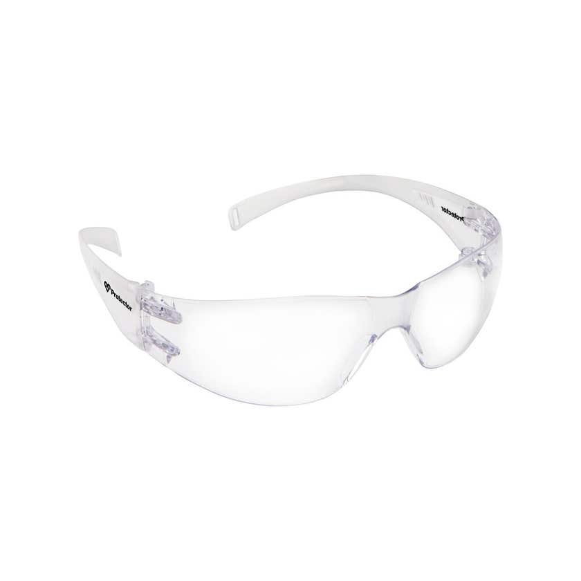 Protector Safety Specs Clear Lens