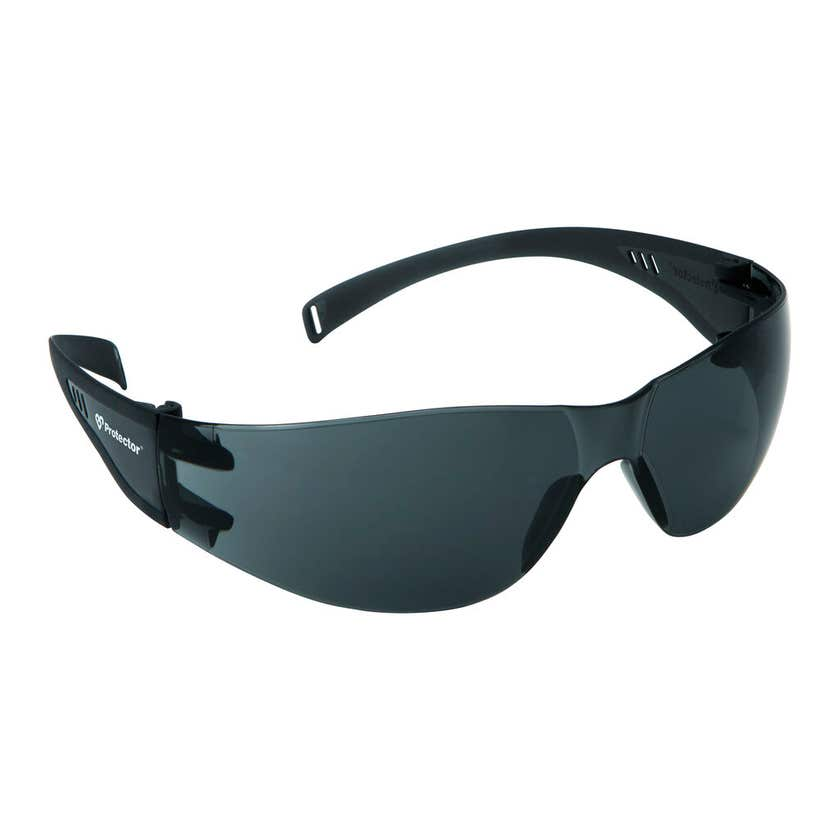 Protector Safety Specs Smoke Lens