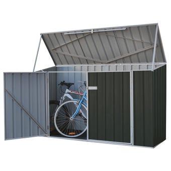 Absco Bike Shed 2.26 x 0.78 x 1.31m