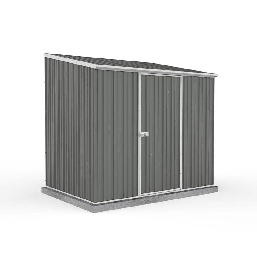 Absco Economy Shed Skillion Roof W2.26 x D1.52 x H2.06m