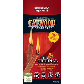Fatwood Firestarter Box 680g