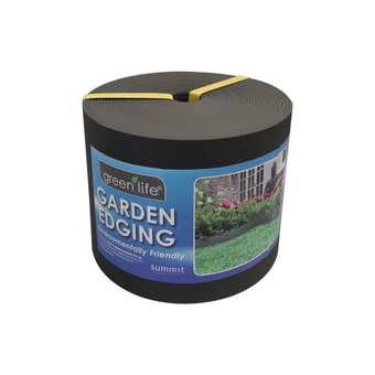 Greenlife Plastic Garden Edging Black 150mm x 10m