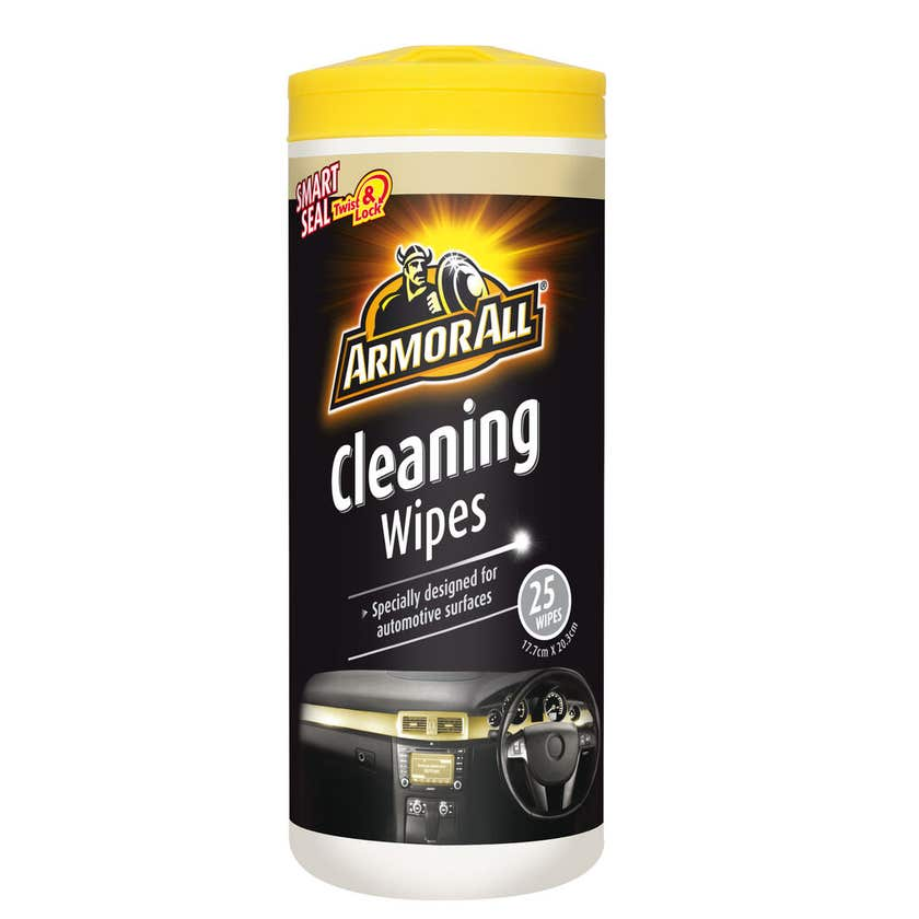 Armor All Cleaning Wipes - 25 Pack