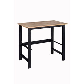 Storage Geelong Mix & Match Wood Top Workbench Small