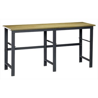 Storage Geelong Mix & Match Wood Top Workbench Large