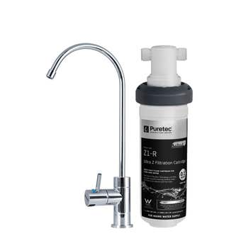 Puretec Z18 Quick Twist Filter System with Tap