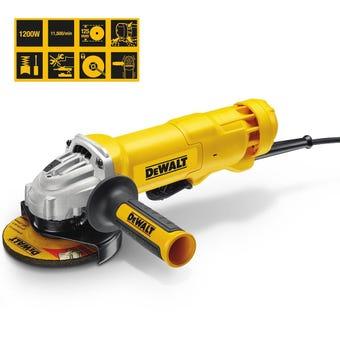 DeWALT 1200W Angle Grinder 125mm