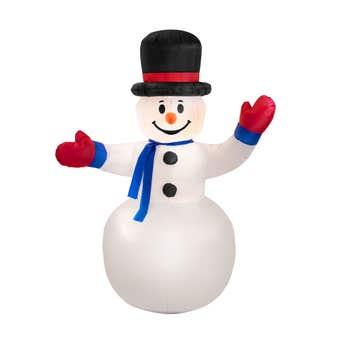 Arlec Inflatable LED Snowman 1.8m