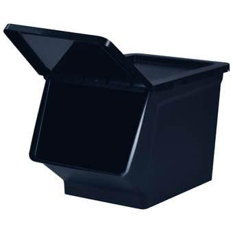 Storage Container Black 23L