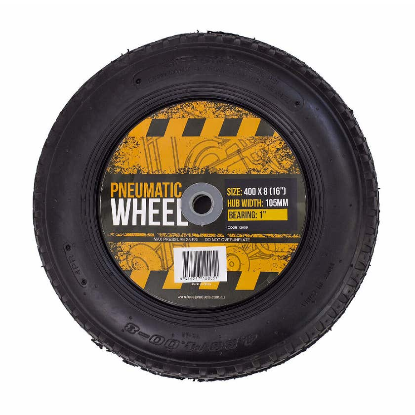 "Blackmax Pneumatic Wheel 400x8 (16"")"