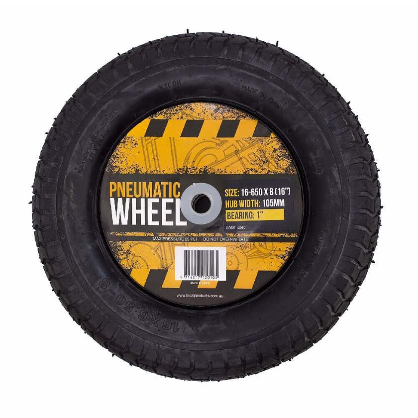 "Blackmax Pneumatic Wheel 650x8 (16"")"