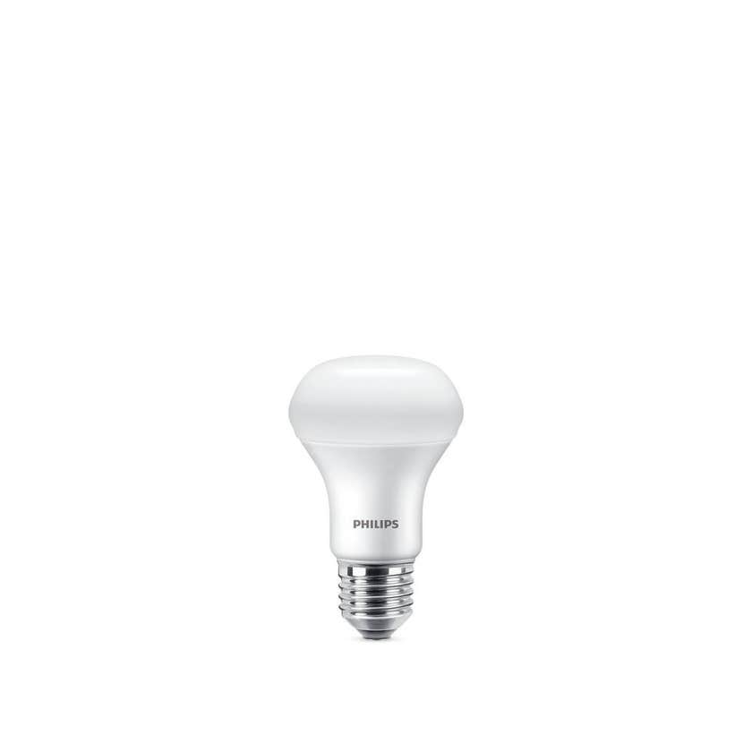 Philips LED Globe Reflector ES R63 7W 6500K Dimmable