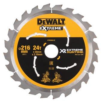 DeWALT Extreme Runtime Circular Saw Blade 24T 216mm