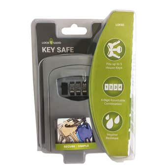 Lockguard Wall Mount Combo Key Safe