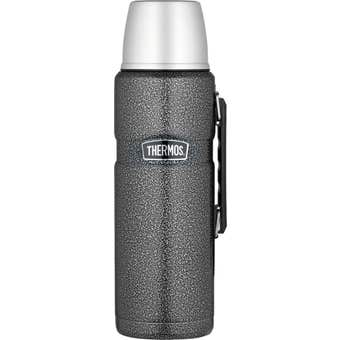 Thermos® 2L Stainless King™ Stainless Steel Vacuum Insulated Flask - Hammertone