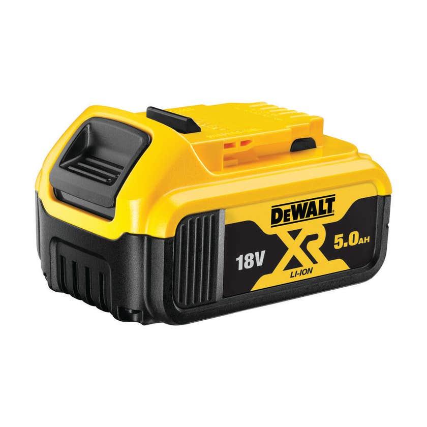 DeWALT 18V 5.0Ah Brushless Angle Grinder XR 125mm Kit DCG406P1-XE