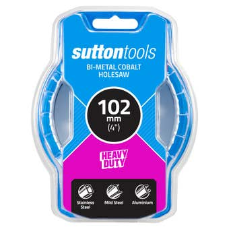 Sutton Tools Bi-Metal Cobalt Hole Saw