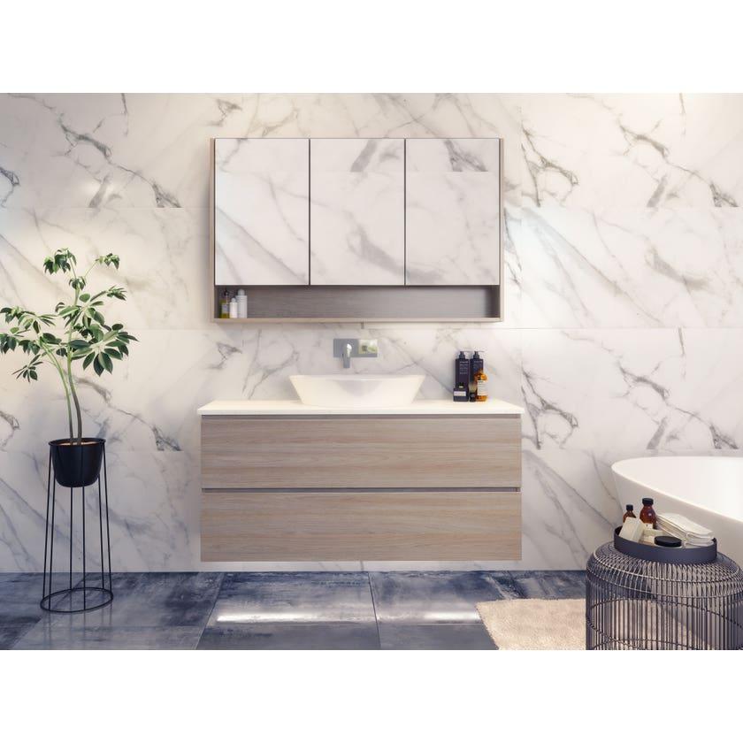 Timberline Nevada Plus Vanity Wall Hung 1200mm