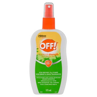 Off! Tropical Strength Insect Repellent Spray 175mL