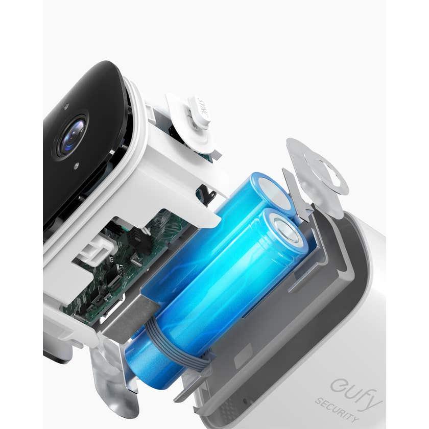 Eufy 1080p 2C Wireless Security Camera & Homebase Kit 2 Camera