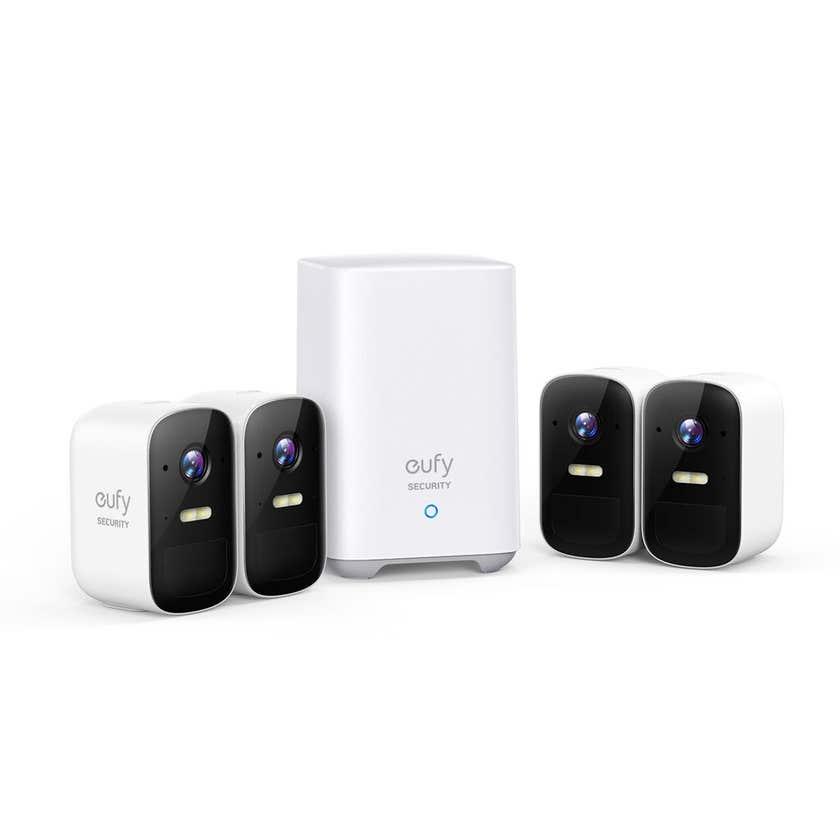 Eufy 1080p 2C Wireless Security Camera & Homebase Kit
