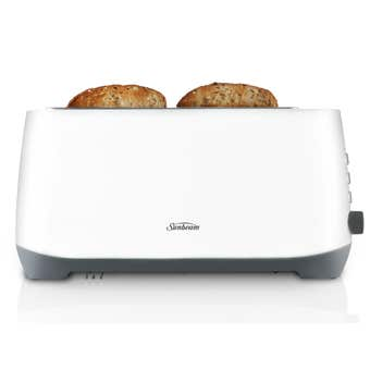 Sunbeam Quantum Plus 4 slice Toaster White