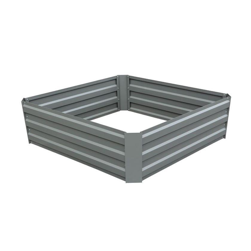 Garden Bed Raised 1000 x 1000 x 300mm Slate Grey