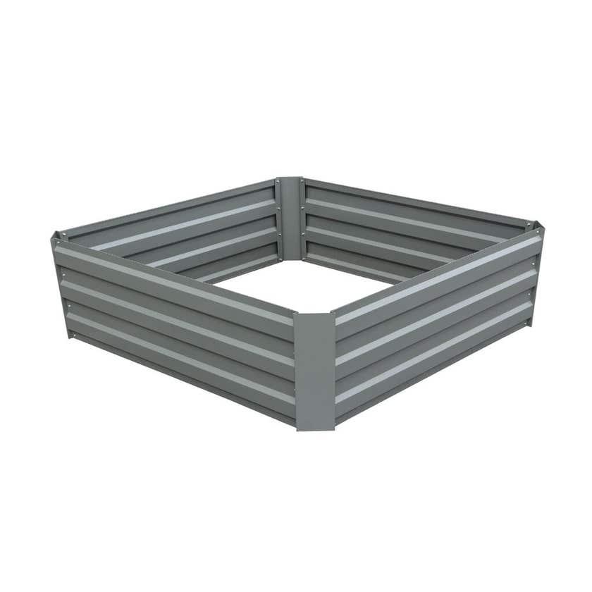 Greenlife Raised Garden Bed Slate Grey 1000 x 1000 x 300mm