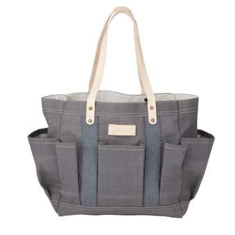 Stephanie Alexander Waxed Canvas Tote Bag
