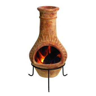 Charmate Fuego Chiminea Clay 990mm