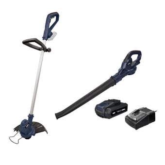 Rockwell 18V Line Trimmer & Blower Kit