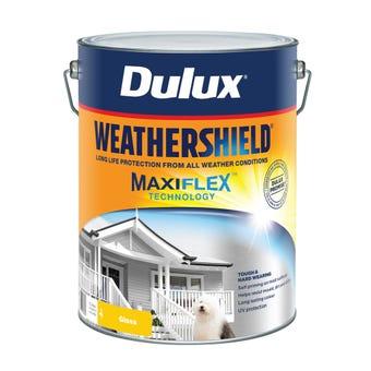 Dulux Weathershield Exterior Gloss Vivid White 10L