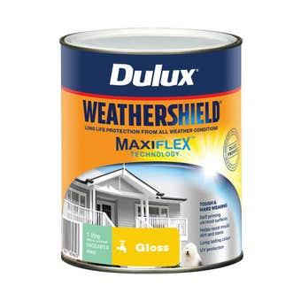 Dulux Weathershield Exterior Gloss Deep 1L