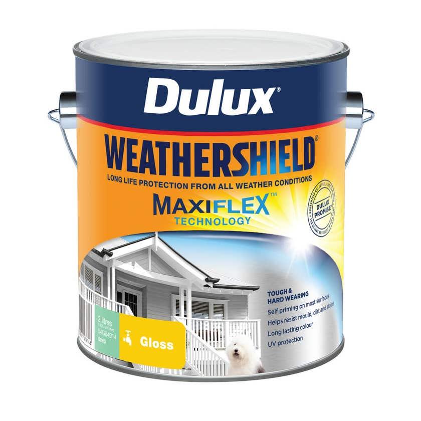 Dulux Weathershield Exterior Gloss Deep Base 2L