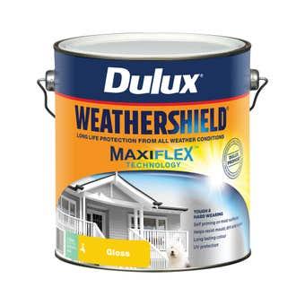 Dulux Weathershield Exterior Gloss Deep 4L