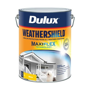 Dulux Weathershield Exterior Gloss Ultra Deep Base 10L