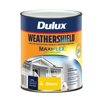 Dulux Weathershield Exterior Gloss Ultra Deep Base 1L