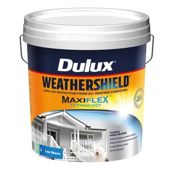Dulux Weathershield Exterior Low Sheen Deep 15L