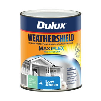 Dulux Weathershield Exterior Low Sheen Deep 1L