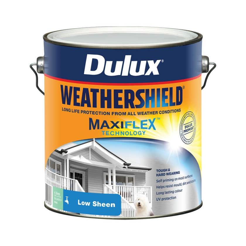 Dulux Weathershield Exterior Low Sheen Deep 4L